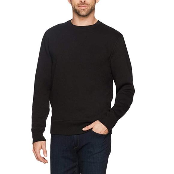 Mens Crewneck Fleece Sweatshirt